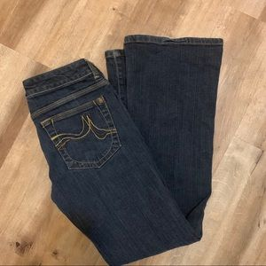 DKNY Dark Wash Flared Jeans Size 5S